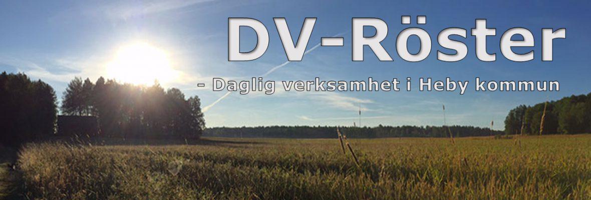 DV-Röster